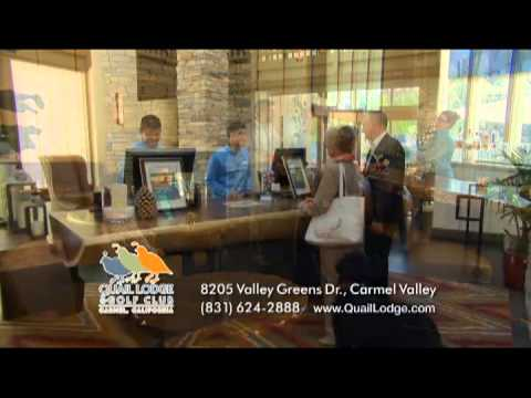 video:Escape to the Sunny Side of Carmel at Quail Lodge & Golf Club