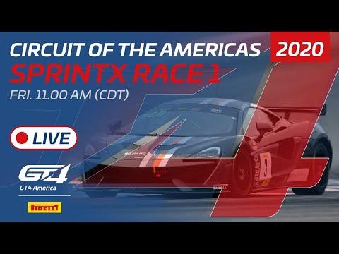 2020年 ブランパンGTワールドチャレンジ・アメリカ(COTA)GT4SPINTX レース1 レースライブ配信動画
