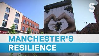 Manchester stand united – a city's spirit captured by the bee emblem - 5 News