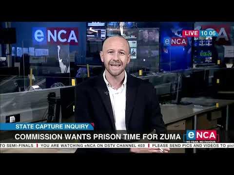 Zuma claims Zondo Commission is biased