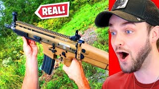 Fortnite Weapons IN REAL LIFE!