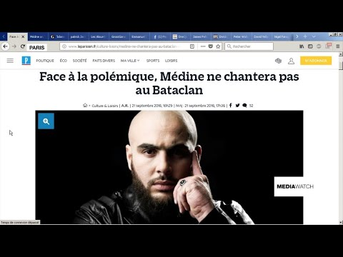 Controversial rapper cancels Bataclan concerts