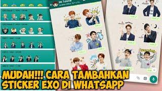 Cara Menambahkan Sticker EXO di WhatsApp Android