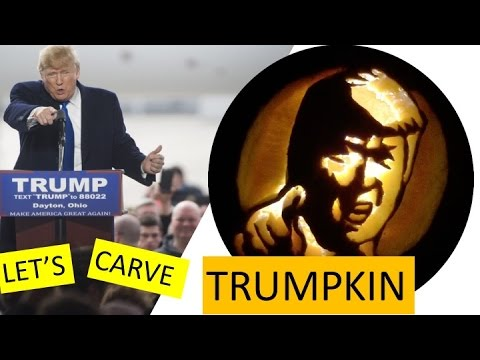 Pumpkin Carving Designs And Stencils How To Carve Donald