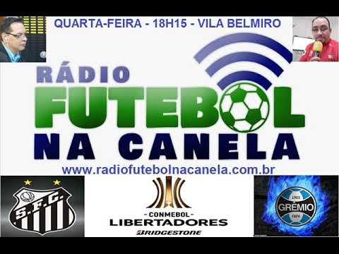 Emoção do Rádio: Ouça os gols de Santos 4x1 Grêmio