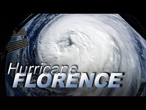 Hurricane Florence From Space on September 12