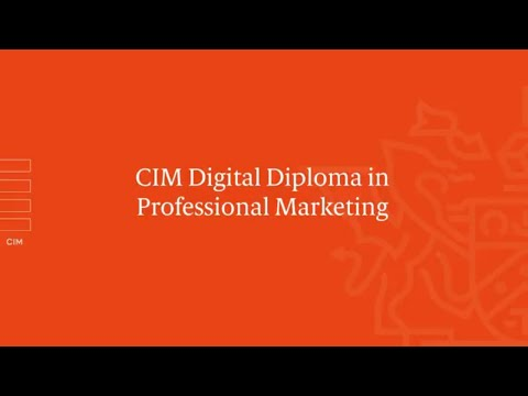 Marketing Qualifications, Training and Membership | CIM