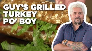 How to Make Guy's Grilled Turkey Po' Boy   Food Network