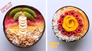 8 Smoothie Bowls to Make You Glow Inside and Out! So Yummy