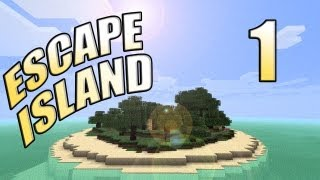 "Minecraft -  ""Escape Island"" Part 1: Stranded #EscapeIsland"