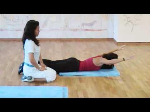 Mięśnie są prostowane kręgosłup