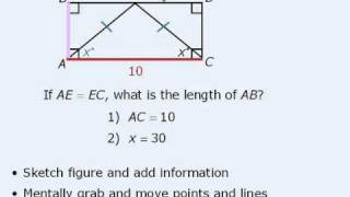 GMAT Prep - Data Sufficiency Lesson #9 - Geometry Questions
