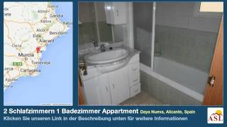 preview picture of video '2 Schlafzimmern 1 Badezimmer Appartment zu verkaufen in Daya Nueva, Alicante, Spain'
