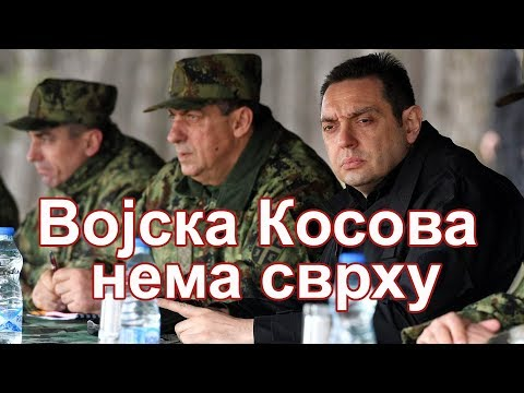 Odgovarajući na pitanje novinara o protivljenju Rusije formiranju takozvane Vojske Kosova, ministar Vulin je rekao da takva vojska nema nikakvo opravdanje...