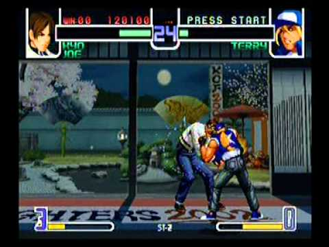 the king of fighters 2002 xbox