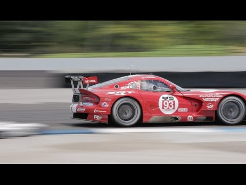 SRT Viper GTS-R wins IMSA Brickyard GP