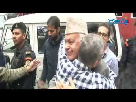 Faroooq Abdullah thanks voters over Srinagar Lok Sabha seat win