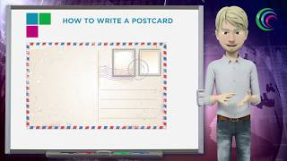 How to write a postcard