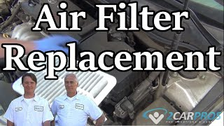Air Filter Replacement Toyota Camry 2007-2011