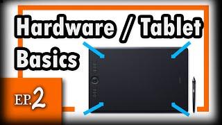 Tablet Basics 2 - Grafiktablet einrichten und hilfreiche Tipps und Tricks german / deutsch