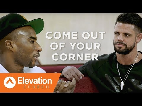 Come Out of Your Corner:A Candid Conversation with Pastor Steven Furtick and Charlamagne tha God