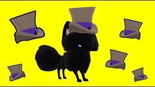 Image of: Fancy Top 0127 How To Get The 3939glitched39 Pinterest Video Animal Jam What Is Solid Blue Top Hat Worth