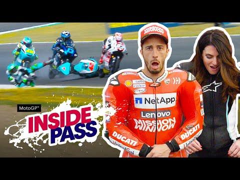 MotoGP 2019 Spain: Dovi & Vanessa Try The Airbag Suit | Inside Pass #4