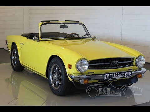 Video of '75 TR6 - LSTD
