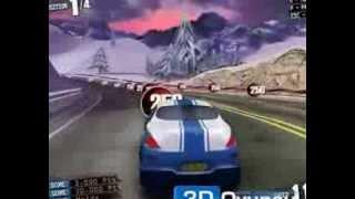3d oyun araba yarışı zorlu yollar
