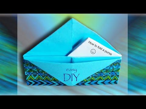 Geldbeutel falten | Origami