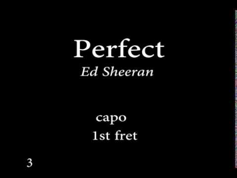 Download Perfect by  Ed sheeran Easy Chords and Lyrics Mp4 HD Video and MP3