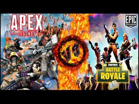 rap de fortnite vs apex legends battle royale choque de titanes casg - is fortnite better than apex legends