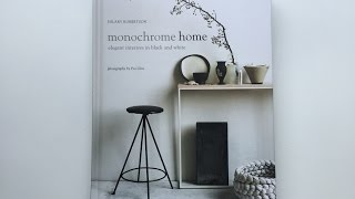 Book Review | Monochrome Home | Hilary Robertson | Rylanpeters | By C-More Interieuradviesblog.nl