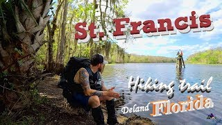 Hiking Florida - St. Francis Trail  (Deland) 8 Mile Loop