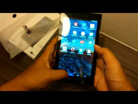 Unboxing Mito Fantasy Tablet T80