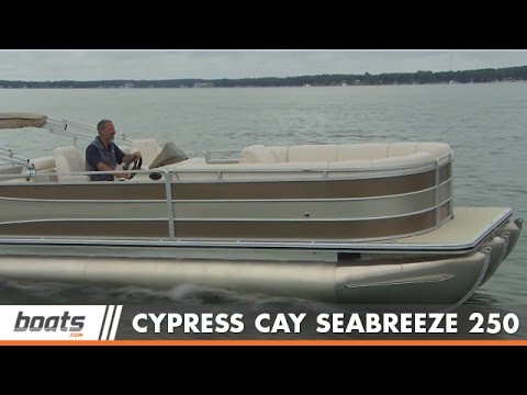2015 Cypress Cay Seabreeze 250: Pontoon Boat Review