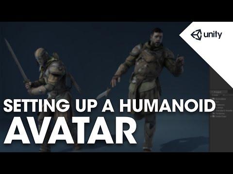 Character Animation Setup - Unity