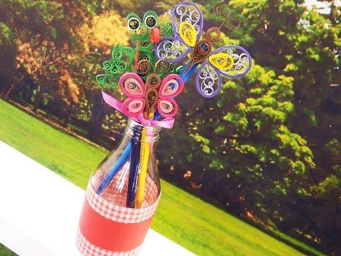 Ponteira de lápis borboleta
