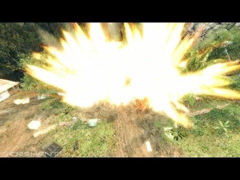 Самодельная вакуумная бомба в Crysis