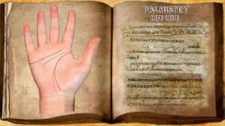 Palmistry life line meaning.  Free hand reading Palm