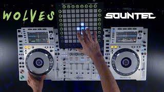 Gambar cover Selena Gomez, Marshmello - Wolves (SOUNTEC Live EDIT), Techfest, IIT Bombay