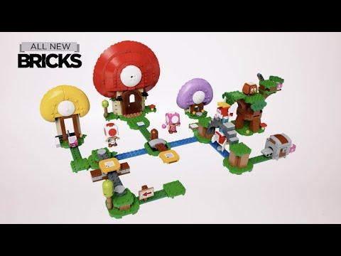 Vidéo LEGO Super Mario 71368 : La chasse au trésor de Toad - Ensemble d'extension