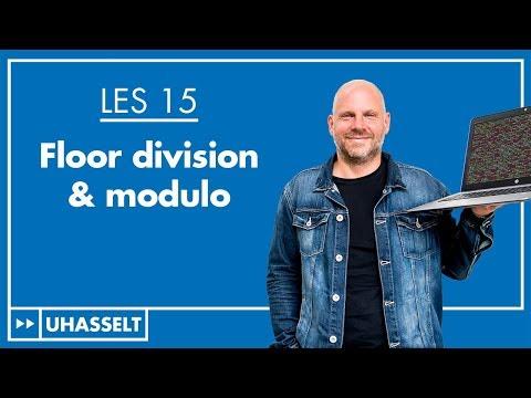 Floor division & modulo
