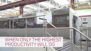 BOBST MASTERCUT 106 PER  Autoplaten® Die-cutter - When Only The Highest Productivity Will Do