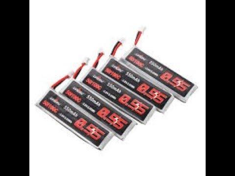 5Pcs URUAV 3 8V 550mAh 50 100C 1S HV 4 35V da Banggood