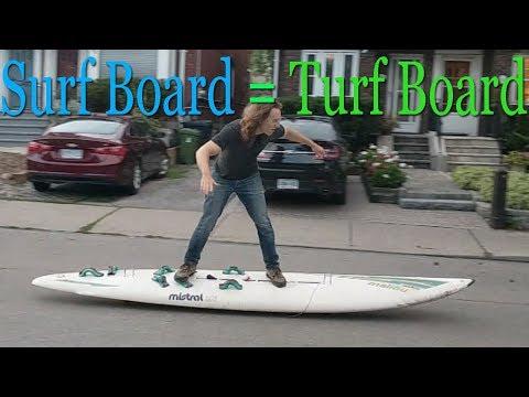 Huge Longboard Fun