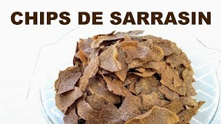 Chips de sarrasin/blé noir
