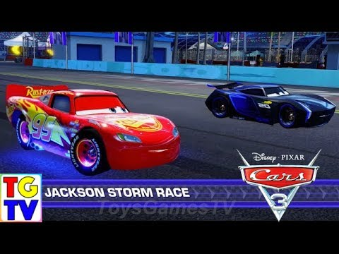 Cars 3: Driven to Win - Lightning McQueen vs Jackson Storm