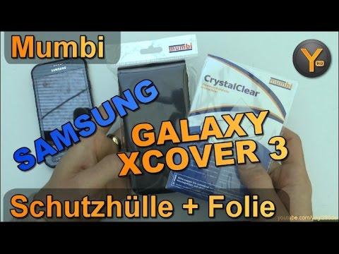 Kurztest: Mumbi Flip Cover & Schutzfolie für Samsung Galaxy Xcover 3