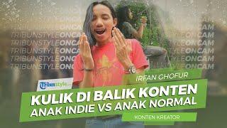 Kulik di Balik Konten Video Lucu Irfan Ghafur, Anak Indie vs Anak Normal, Kini Dibuat Novel